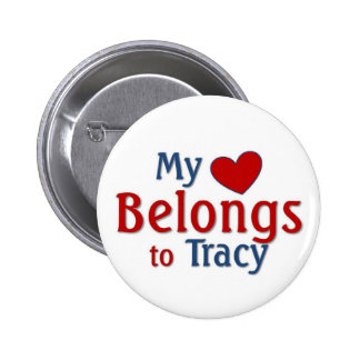 Heart belongs to Tracy Buttons