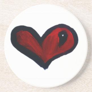 Heart Beverage Coaster