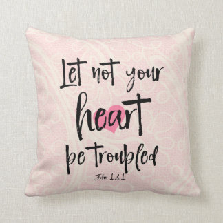 Heart Bible Verse Cushion