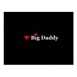 Heart Big Daddy Postcard