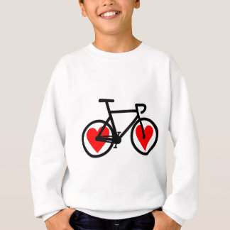 Heart Bike 2 Sweatshirt