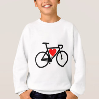 Heart Bike Sweatshirt