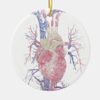 Heart (Biro) Christmas Ornament