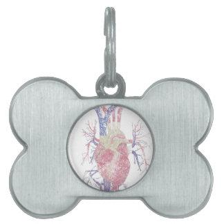 Heart (Biro) Pet ID Tag