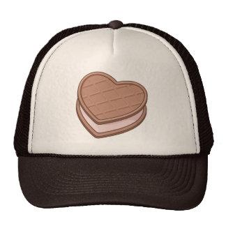 Heart biscuit trucker hat
