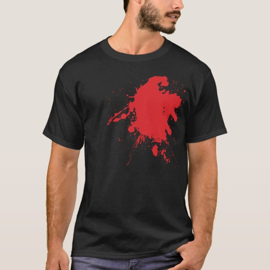 Heart Blood Splat T-Shirt