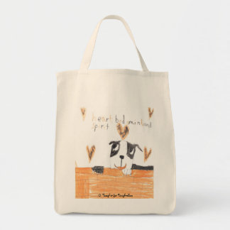 Heart, Body, Mind and Spirit Grocery Tote Bag