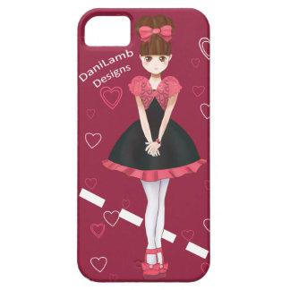 Heart Bolero Cute Anime Girl Binder iPhone 5 Covers