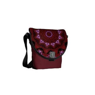 Heart Box Sun Rouge Mandala Courier Bags