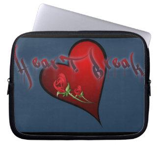 Heart Break Laptop Sleeve