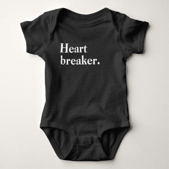 Heart Breaker Baby Bodysuit
