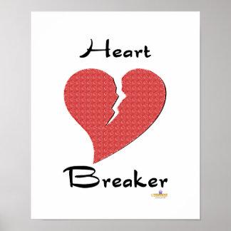 Heart Breaker Broken Heart Poster