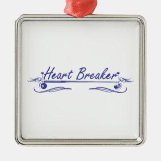 Heart Breaker Christmas Ornament