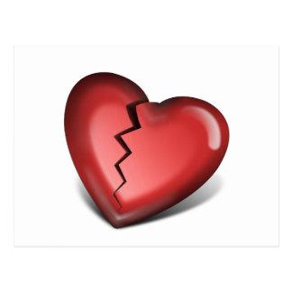 Heart Breaker Postcard