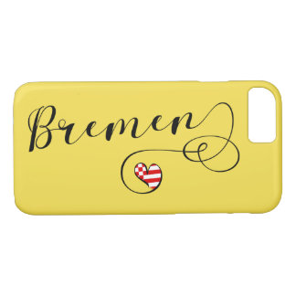 Heart Bremen Mobile Phone Case, Germany iPhone 8/7 Case