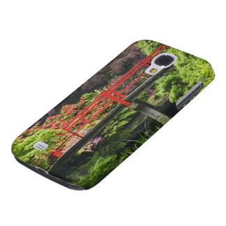 Heart Bridge with blossoming rhododendrons, Galaxy S4 Case