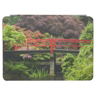 Heart Bridge with blossoming rhododendrons, iPad Air Cover