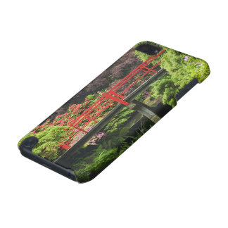Heart Bridge with blossoming rhododendrons, iPod Touch 5G Covers