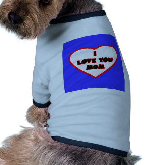 Heart Bright Blue Transp Filled The MUSEUM Zazzle Pet Shirt