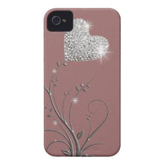 Heart brilliant lovely design iPhone 4 case