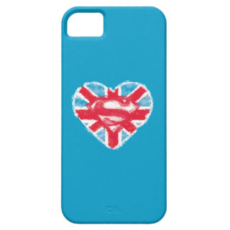 Heart British S-Shield Barely There iPhone 5 Case
