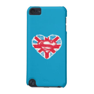 Heart British S-Shield iPod Touch 5G Covers