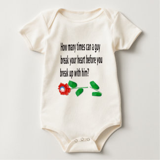 Heart Broken Baby Bodysuit