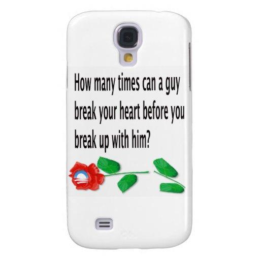 Heart Broken Samsung Galaxy S4 Cover