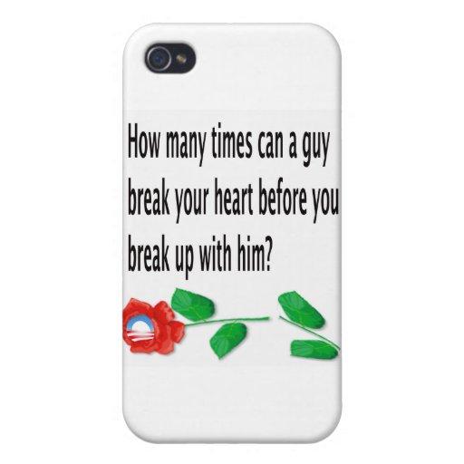 Heart Broken iPhone 4 Case