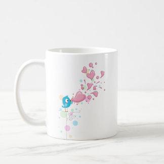 Heart Bubbles Basic White Mug