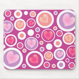 Heart Bubbles Mousepad