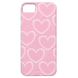 Heart Bubbles - Pink - Phone Case Case For The iPhone 5