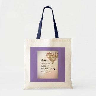 Heart Budget Tote bag