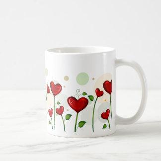 Heart Buds Valentine Mug