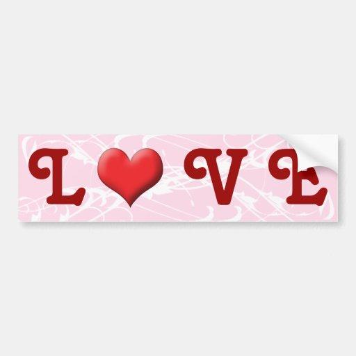 Heart Bumper Sticker