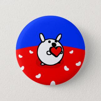 HEART BUNNY Button