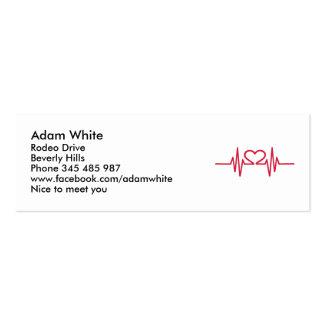 Heart Business Card Templates