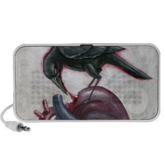 Heart cannibal laptop speakers