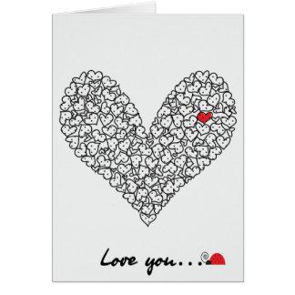 Heart Card, Valentine's Day Card