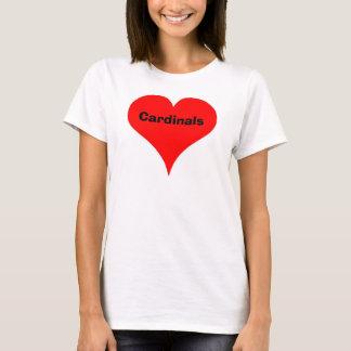 heart, Cardinals T-Shirt