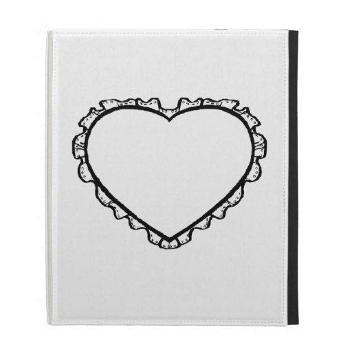 Heart iPad Folio Cover