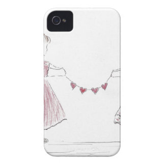 heart chain mother s day iPhone 4 Case-Mate case