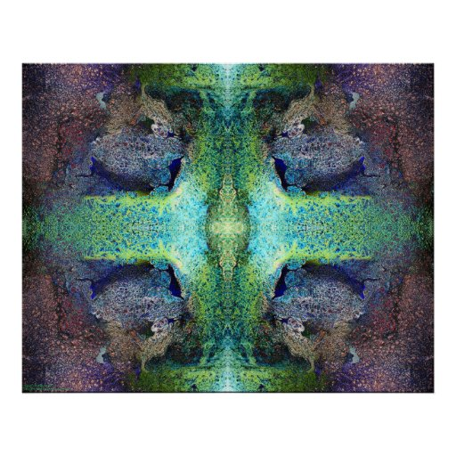 """Heart Chakra Altar"" Abstract Meditation Art Posters"