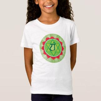 Heart Chakra Anahata Girls'Cap Sleeve T-Shirt