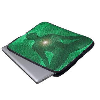 Heart Chakra Anahata Laptop Sleeve