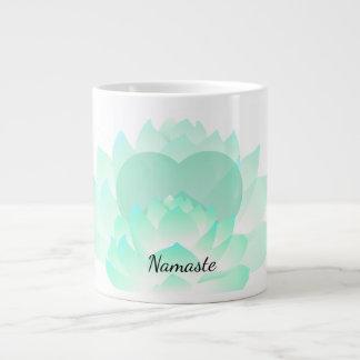 Heart Chakra Lotus Namaste Mug