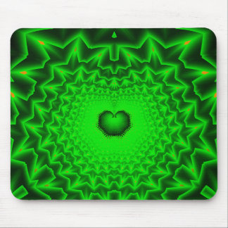 heart chakra mouse pad