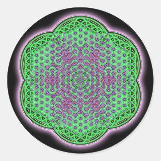 Heart Chakra Round Sticker