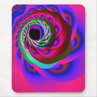 heart chakra spiral mouse pad