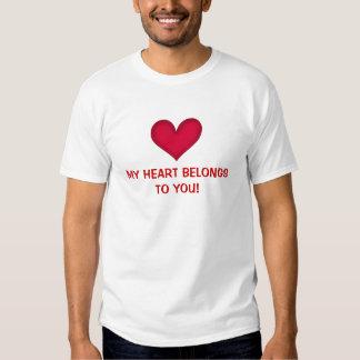 heart clothes tee shirt